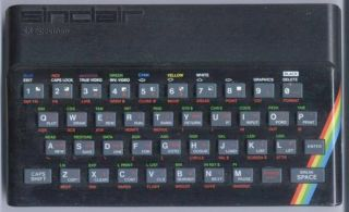 The ZX Spectrum - with its famous rubber keyboard